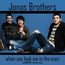 Nuty na Pianino Keyboard za darmo Jonas Brothers - When You Look Me in The Eyes