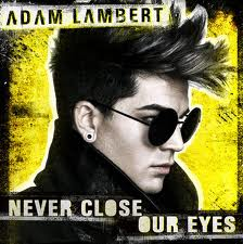 Nuty na Pianino Keyboard za darmo Adam Lambert - Never Close Your Eyes
